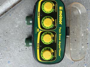 Melnor 2 zone sprinkler timer for Sale in Glendale, AZ