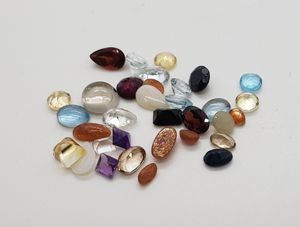 21.42cts Natural Mixed Loose Gemstones for Sale in Haslet, TX