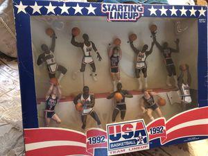 1992 Starting Lineup Basketball - Kenner - USA Olympic Dream Team Set**VINTAGE** for Sale in BRUSHY FORK, WV