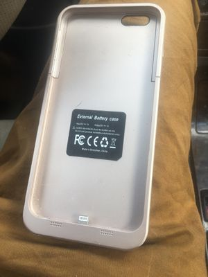 iPhone 7/8 plus External battery case for Sale in Cupertino, CA