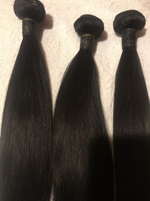 """3 bundle deal straight 18""""20""""22"""" with 16 inch closure $180. for Sale in Las Vegas, NV"""