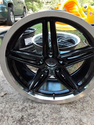 Mercedes Rims 19s.. 5x112 staggered deep dish for Sale in Grand Prairie, TX