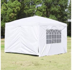 10'x10' Carport Garage Car Shelter Canopy Party Tent Sidewalls White for Sale in San Jose, CA