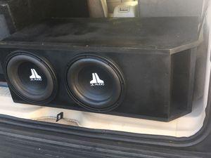 2 10 s JL Audio W3v2 D2 Subwoofer !! Rockford fosgate, kicker,Orion, Hifonics!!! for Sale in La Mesa, CA
