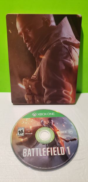 Xbox One Battlefield 1 Steelbook for Sale in Manheim, PA