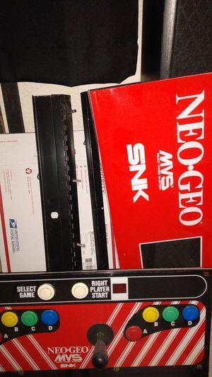 Snk neo geo arcade for Sale in Clovis, CA
