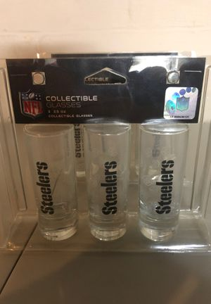 Two Steelers collectible glasses for Sale in Greensburg, PA