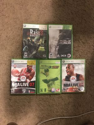 5 Xbox 360 Games for Sale in Harrisonburg, VA