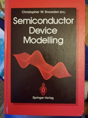 Semiconductor Device Modelling 1st Edition for Sale in Mineral Wells, WV