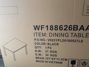 Brand New Dining Table *Not Black for Sale in Duluth, GA