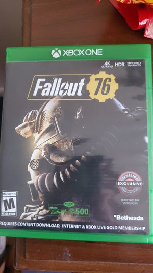 Fallout 76 xbox one for Sale in Campbellsport, WI