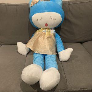 Soft Plush Girl Doll 3 Feet Tall for Sale in San Dimas, CA