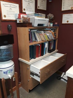 Combination bookshelves & file drawers for Sale in Portland, OR
