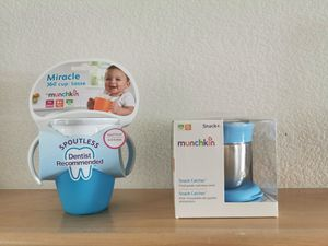 Munchkin baby cup. snack catcher for Sale in San Ramon, CA