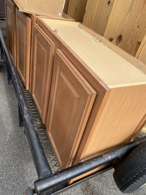 2 doble doors cabinets for Sale in Gaithersburg, MD