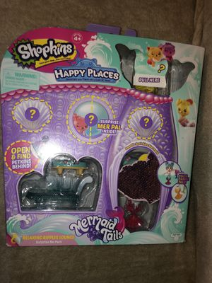 NEW Shopkins Shoppies Happy Places Mermaid Tails for Sale in San Antonio, TX