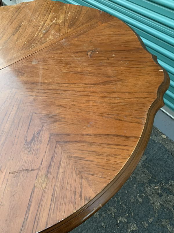 Solid Wood Dining Room Table and Chairs Set