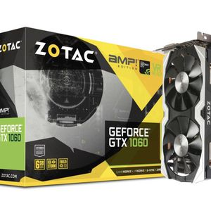 ZOTAC GeForce GTX 1060 AMP Edition, ZT-P10600B-10M, 6GB GDDR5 VR Ready Super Compact Gaming Graphics Card for Sale in Chicago, IL