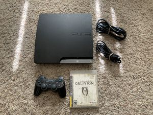 PS3 PlayStation 3 console oblivion for Sale in Rancho Cucamonga, CA