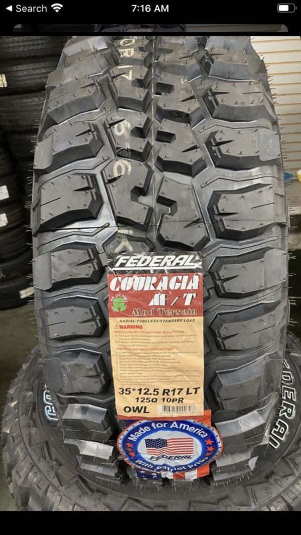 Federal tires @wholesale prices—WE DELIVER ONLY