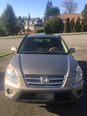 2006 Honda CRV SE model. AWD for Sale in Renton, WA