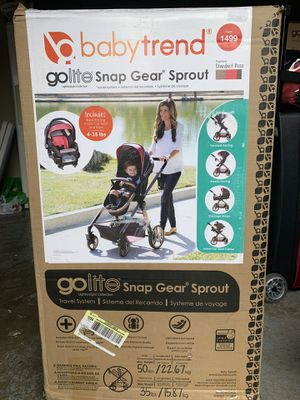 Baby trend go lite snap gear/baby stroller/retails for $329 for Sale in Portland, OR