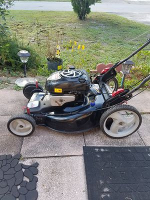 Craftsman self propelled lawn mover runs perfect $180 firm no less for Sale in Hollywood, FL