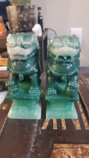 Foo dog bookends for Sale in Issaquah, WA