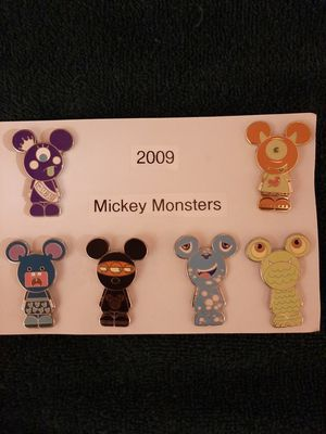 RARE Disney Pin Set - Mickey Monsters for Sale in Inglewood, CA