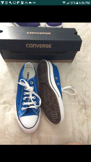 Blue Converse for Sale in Sterling, VA