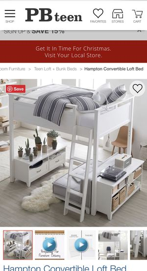 Pottery Barn Teen Hampton Bed Set for Sale in Austin, TX