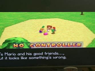 N64 With 4 Controllers And 2 Games for Sale in Campbell, CA