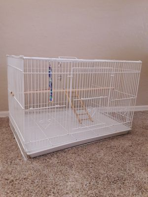 Bird Cage with Accessories for Sale in Avondale, AZ