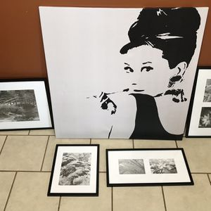 Home Picture Decor- All For $50 for Sale in Houston, TX