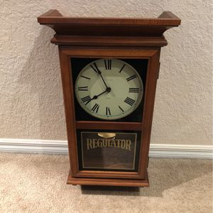 Vintage Hamilton Station Wall clock for Sale in Weston, FL