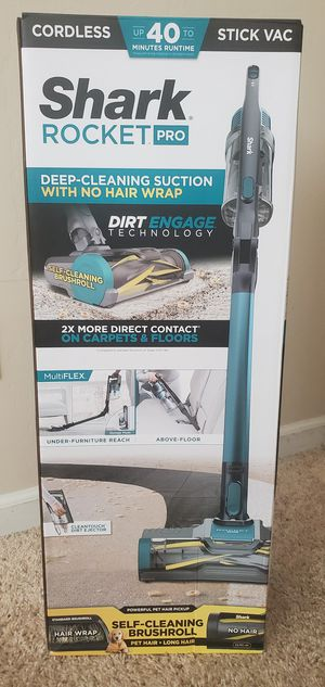 Brand new never used Shark Cordless Pet Pro Lightweight Stick Vacuum $$ 150 firm for Sale in Bakersfield, CA