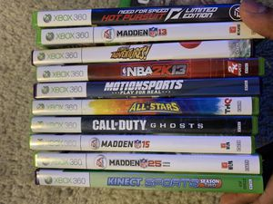 Xbox 360 games for Sale in Cuyahoga Falls, OH