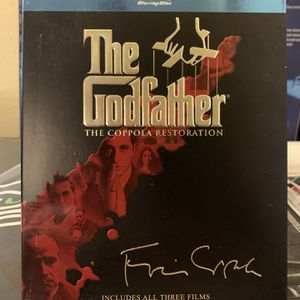 The Godfather Movie 🎥 Trilogy Blu-Ray for Sale in Happy Valley, OR