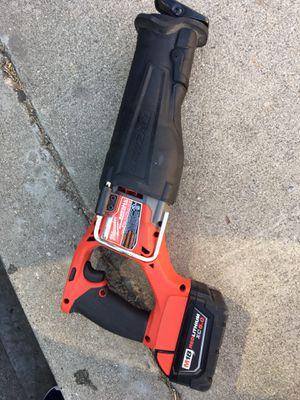 Milwaukee saw zaw fuel 18 v for Sale in Whittier, CA