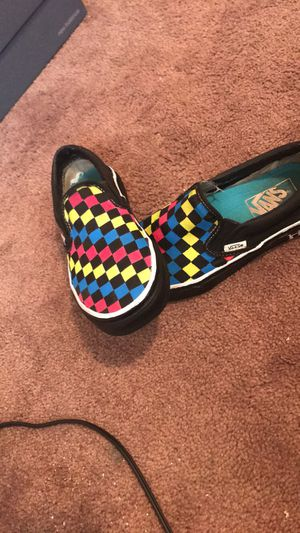 Custom vans done by me SIZE 4.5 for Sale in S CHESTERFLD, VA