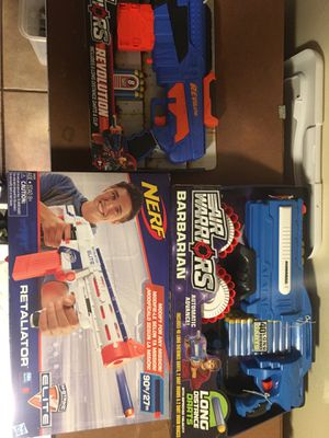 Nerf gun toys for Sale in Los Angeles, CA