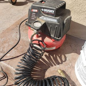 1 gallon Husky air compressor for Sale in San Marcos, CA
