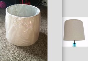 Two identical lamp shades for Sale in Bloomington, IL