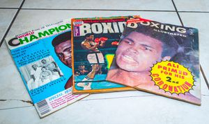 Boxing Magazines for Sale in Perris, CA