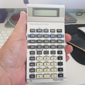 Texas Instruments TI-55II Programmable Constant Memory Calculator for Sale in Malabar, FL
