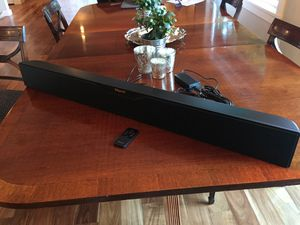 Klipsch R-1OB Sound Bar with Wireless Subwoofer for Sale in Portland, OR