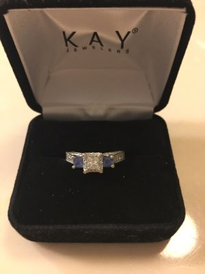 Diamond and sapphire engagement ring for Sale in Knoxville, TN