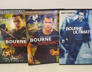 Jason Bourne Dvds Set-The First 3 Movies EUC for Sale in Los Angeles,  CA