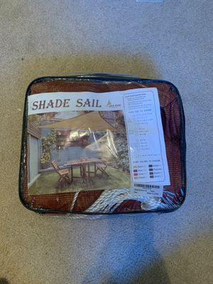 Smaller triangle sun shade for Sale in Wenatchee, WA
