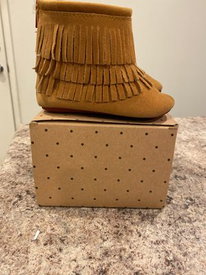 Brown Moccasin Boots With Red Bottoms for Sale in Fontana, CA
